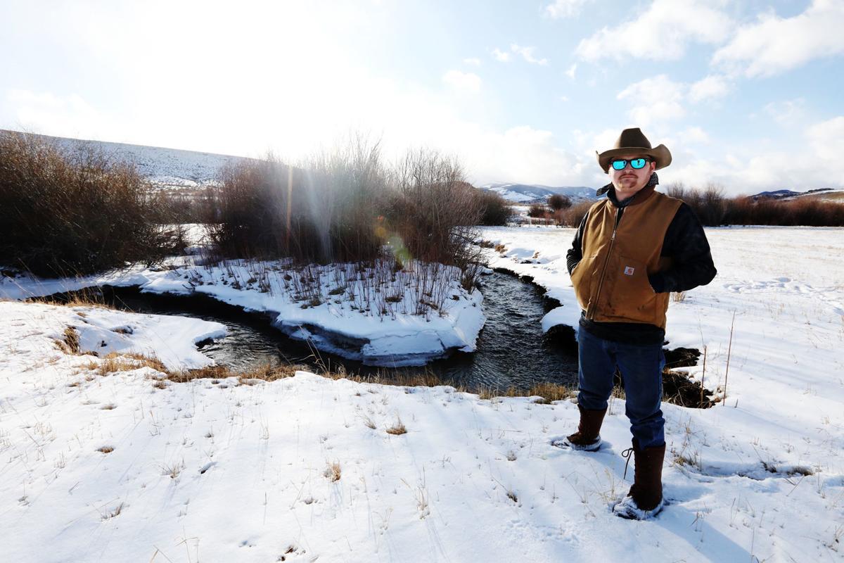Melrose rancher J.M. Peck