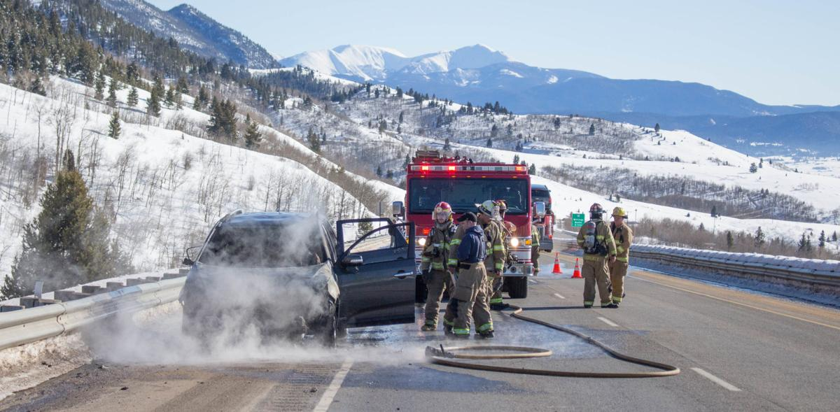 Butte firefighters extinguish car fire on Sunday