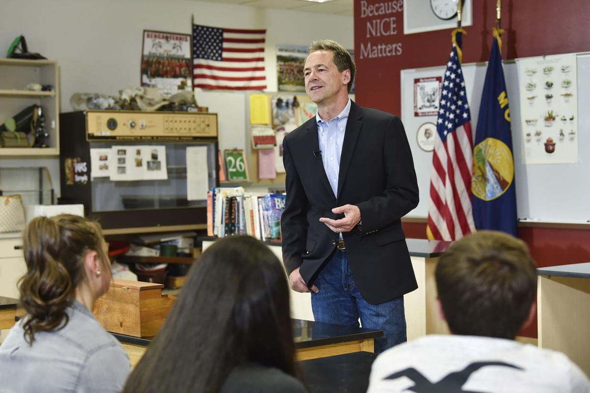 Gov. Steve Bullock, Democratic presidential candidate, officially announces