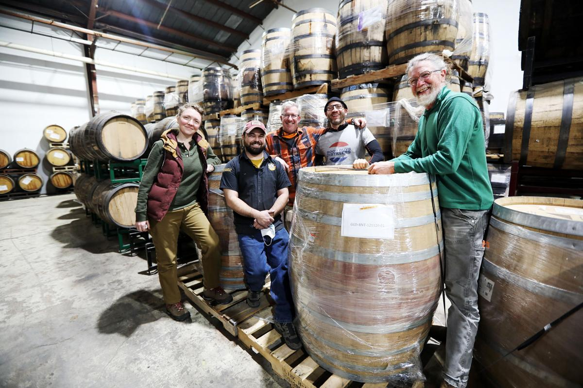 A meeting of whiskey makers in Butte