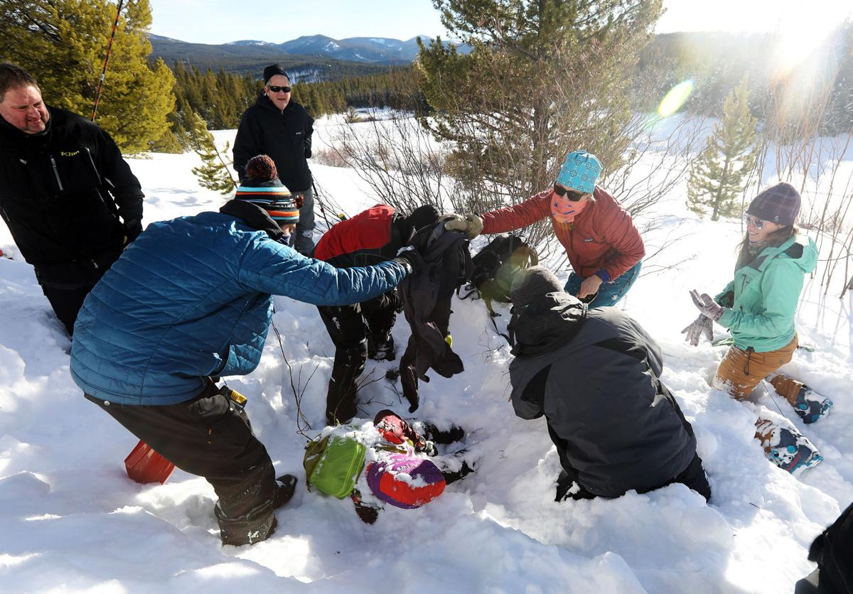 Avalanche clinic in Southwest Montana