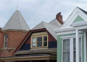 Mansard, dentils: What it all means
