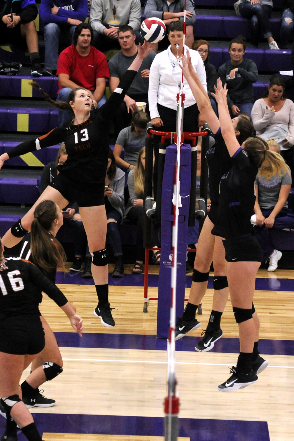 carroll tech volleyball