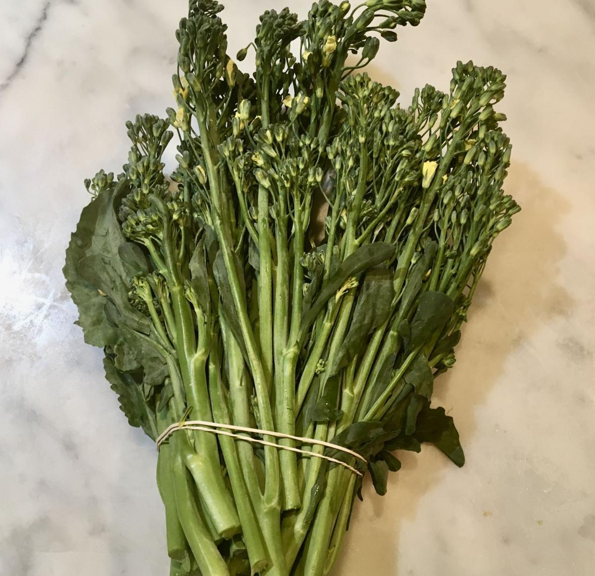 A bunch of Cime di Rapa