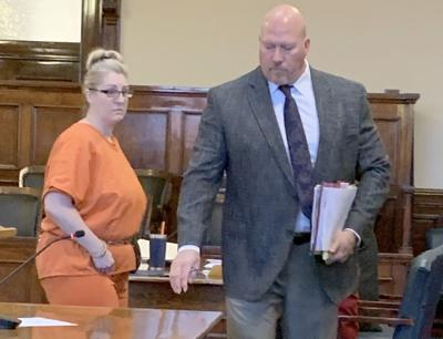 Shelley Marie Kroum in court