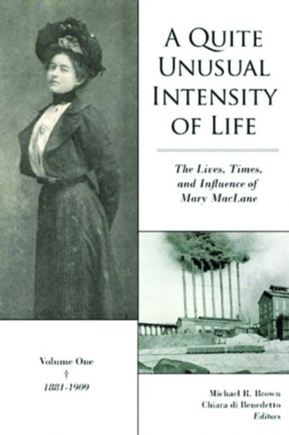 Book cover: A Quite Unusual Intensity of Life