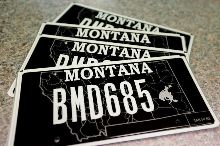 Black license plate among most popular in Butte-Silver Bow | Local