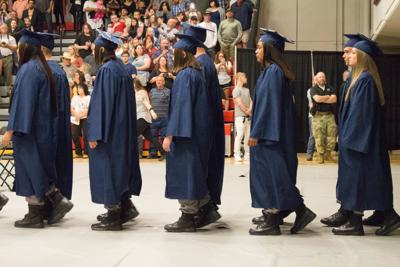 Montana Youth Challenge Academy commencement ceremony