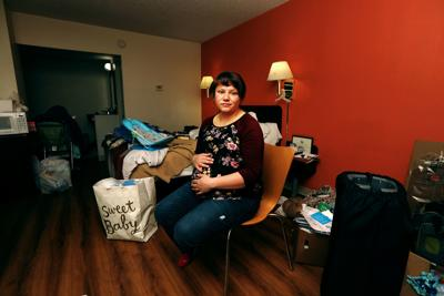 Pregnant homeless woman says faith and the kindness of strangers have helped her in Butte