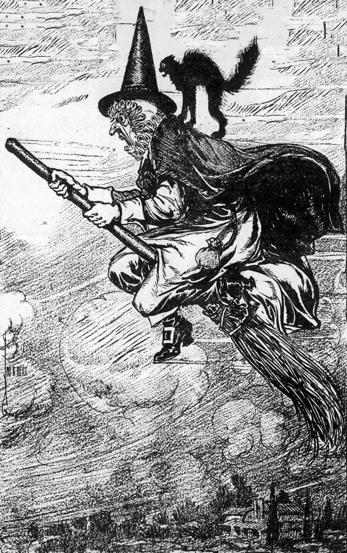 Halloween artwork October 21, 1906