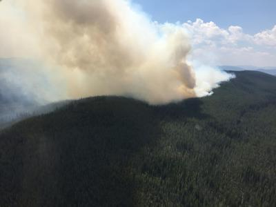 Reynolds Lake fire