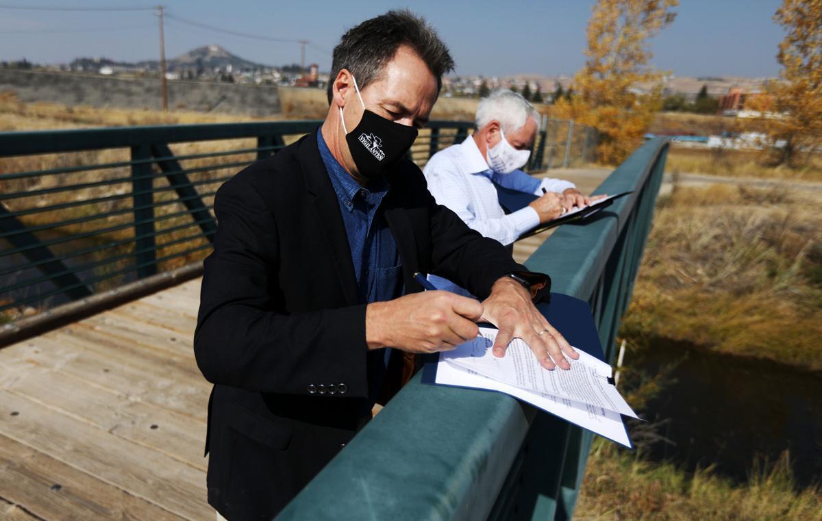 Gov. Steve Bullock makes stops in Butte