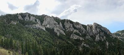 Chestnut Mountain spires