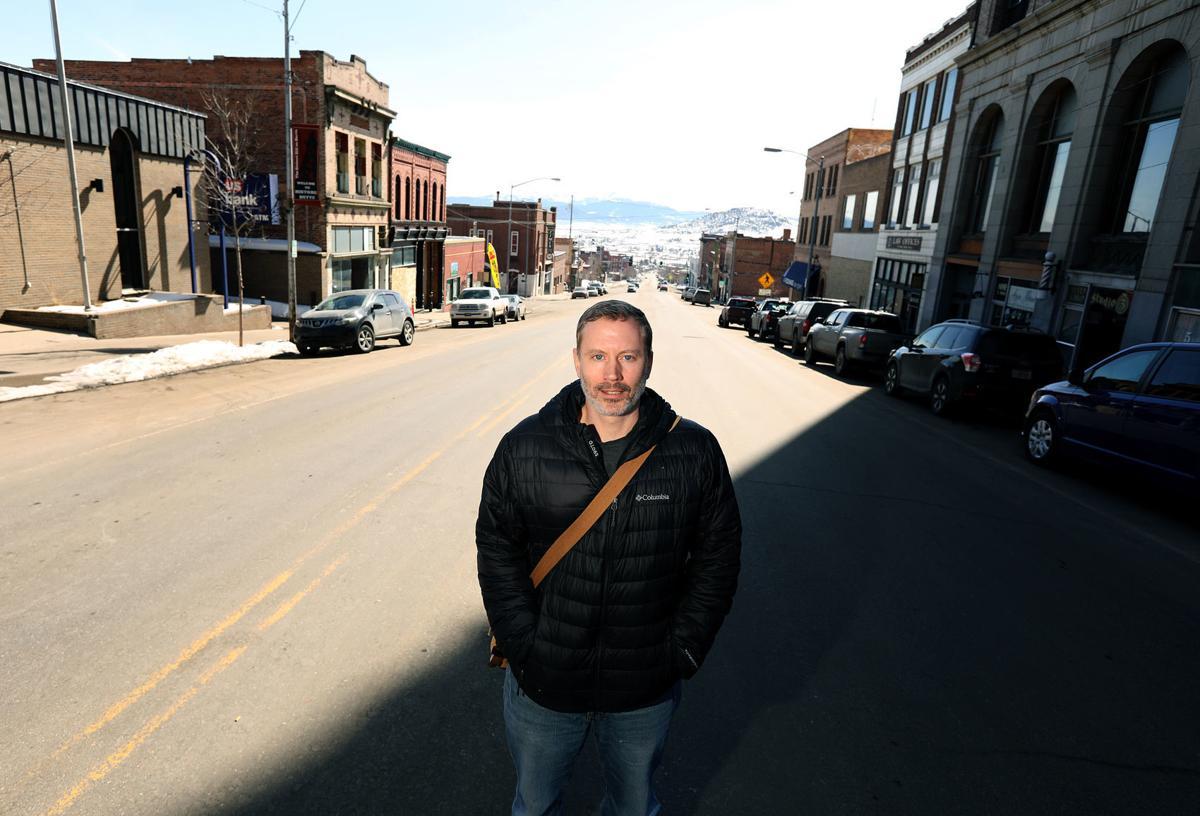 Author and Montana Tech professor Michael Masters