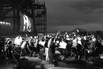 Butte Symphony accompanies silent movies