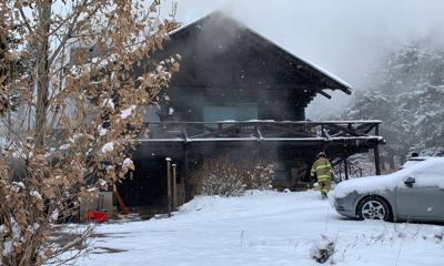House fire near East Ridge