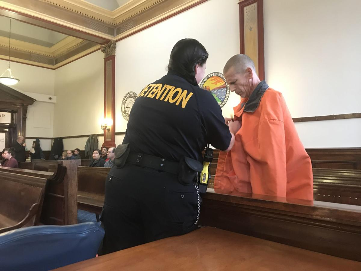 Dane Anthony Gibson appears in court