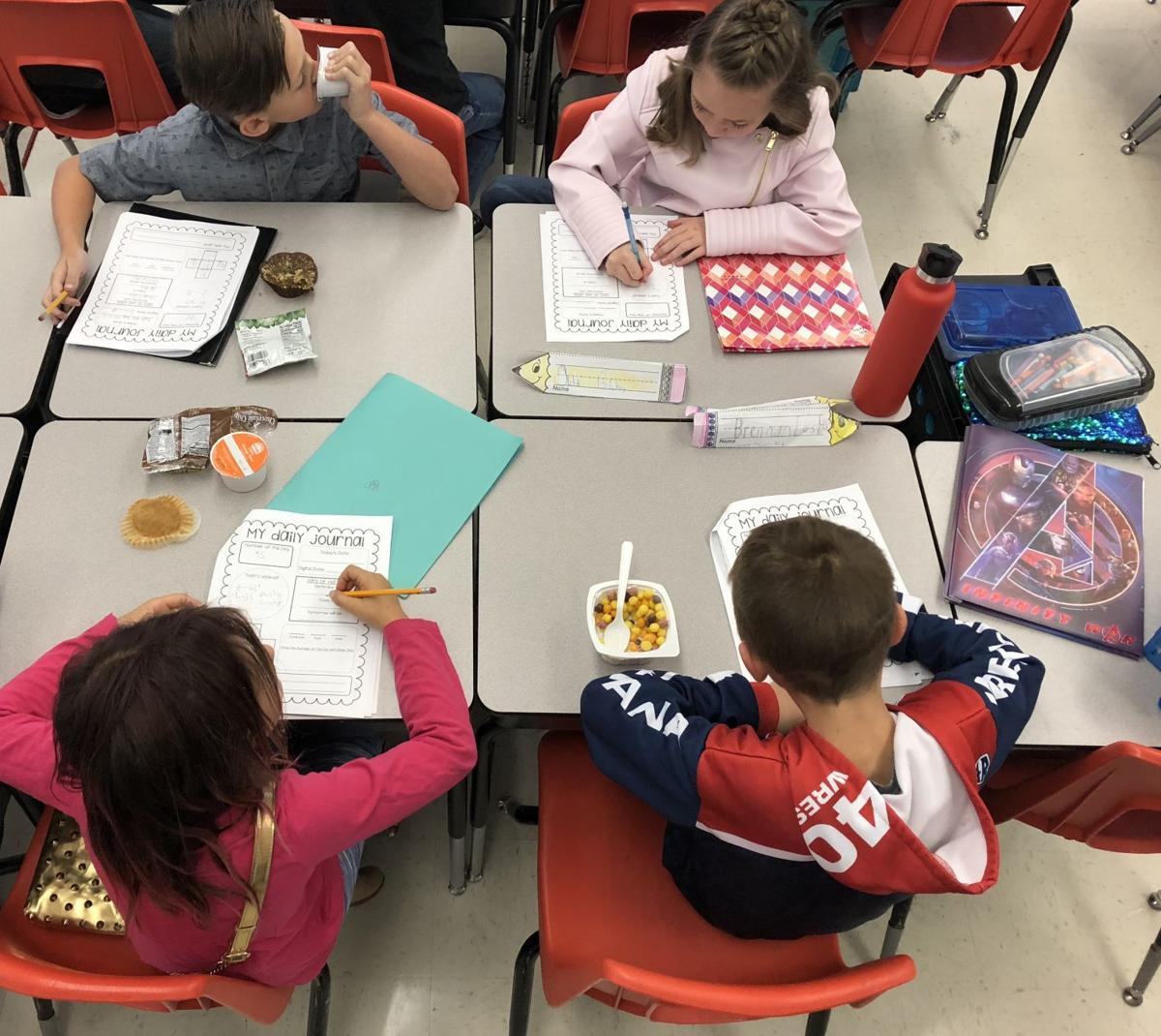 """Breakfast in the Classroom"" program"