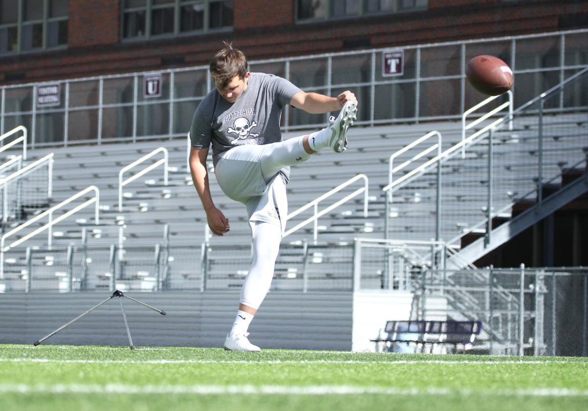 Casey Kautzman practice kick