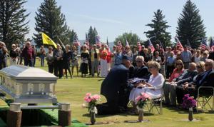 Rest in peace: Capt. Robert Edwin Holton is buried near Butte