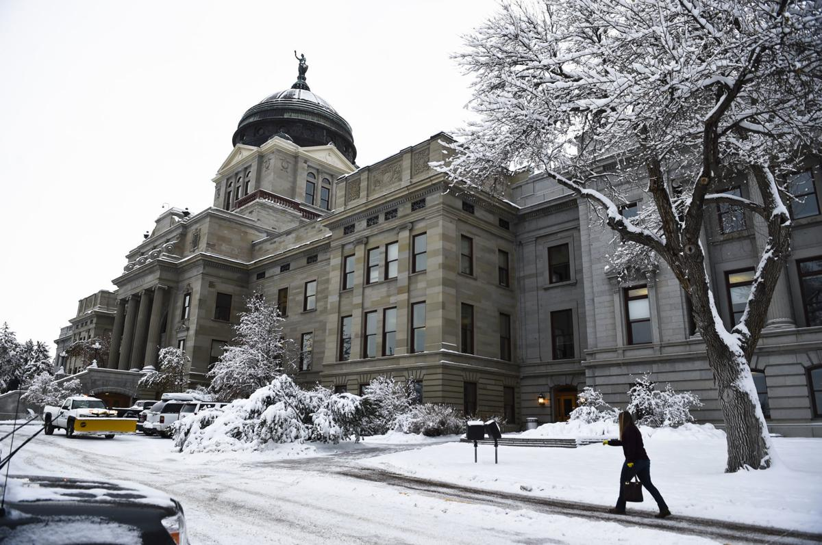 The Montana State Capitol in Helena