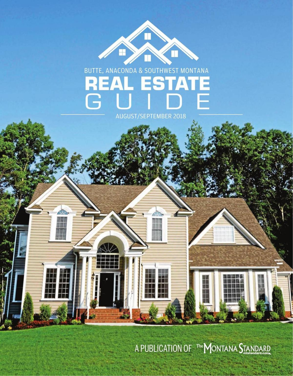 Southwest Montana Real Estate Guide August-September Edition