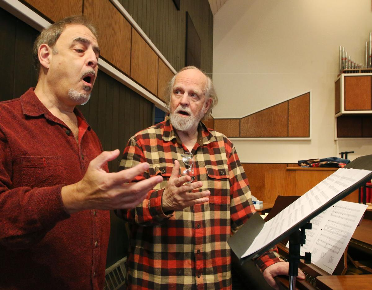 Gary Funk teaching a voice lesson