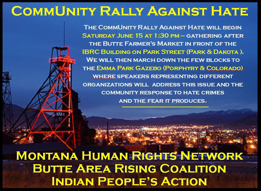CommUnity Rally Against Hate