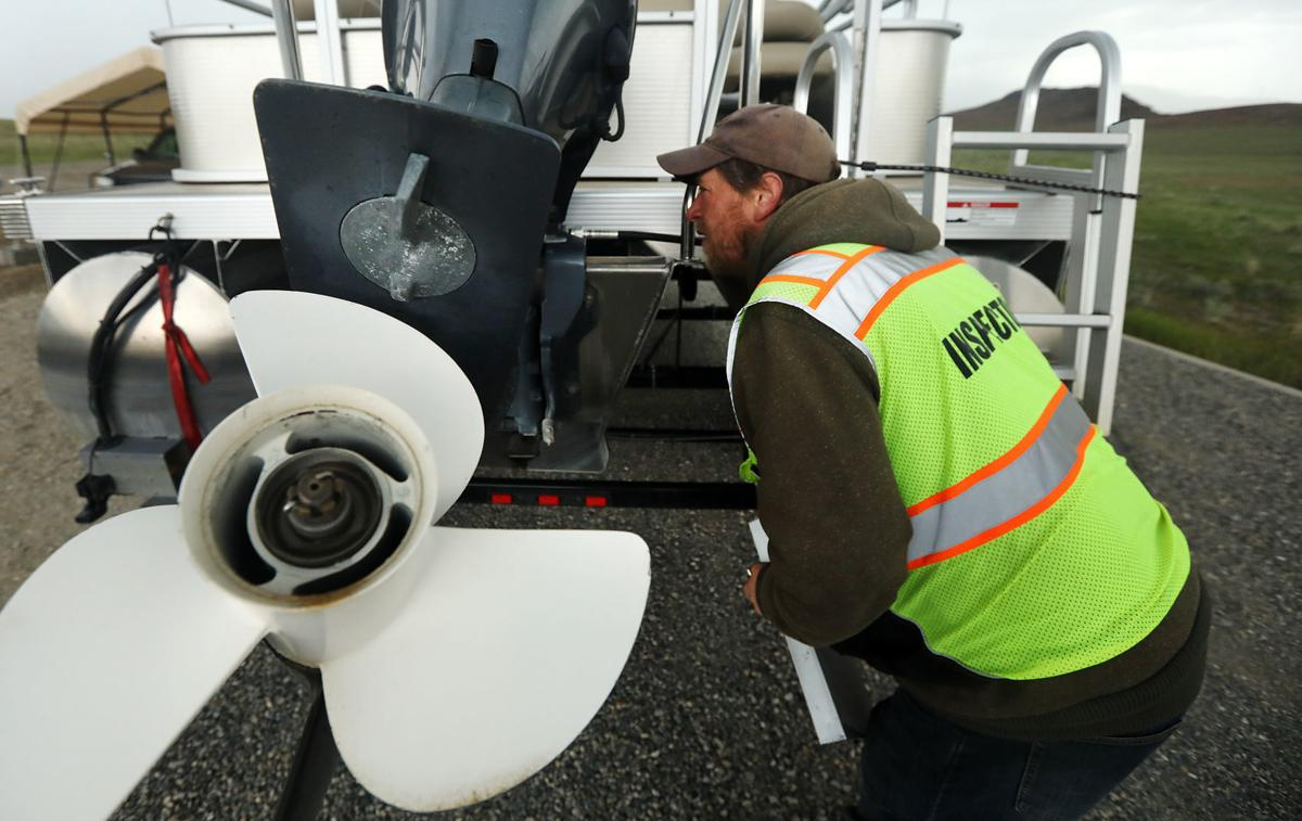 Boat inspection sites help keep invasive species out of Montana waterways
