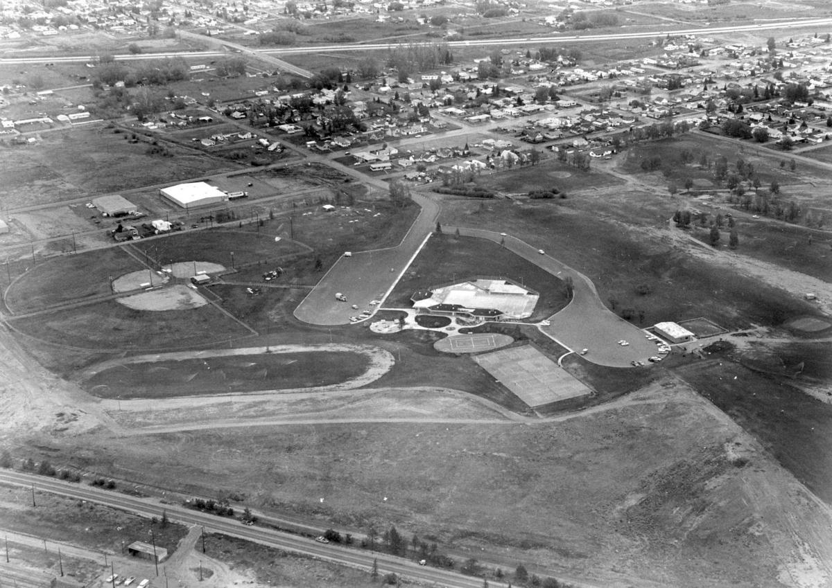 Aerial view of Stodden Park