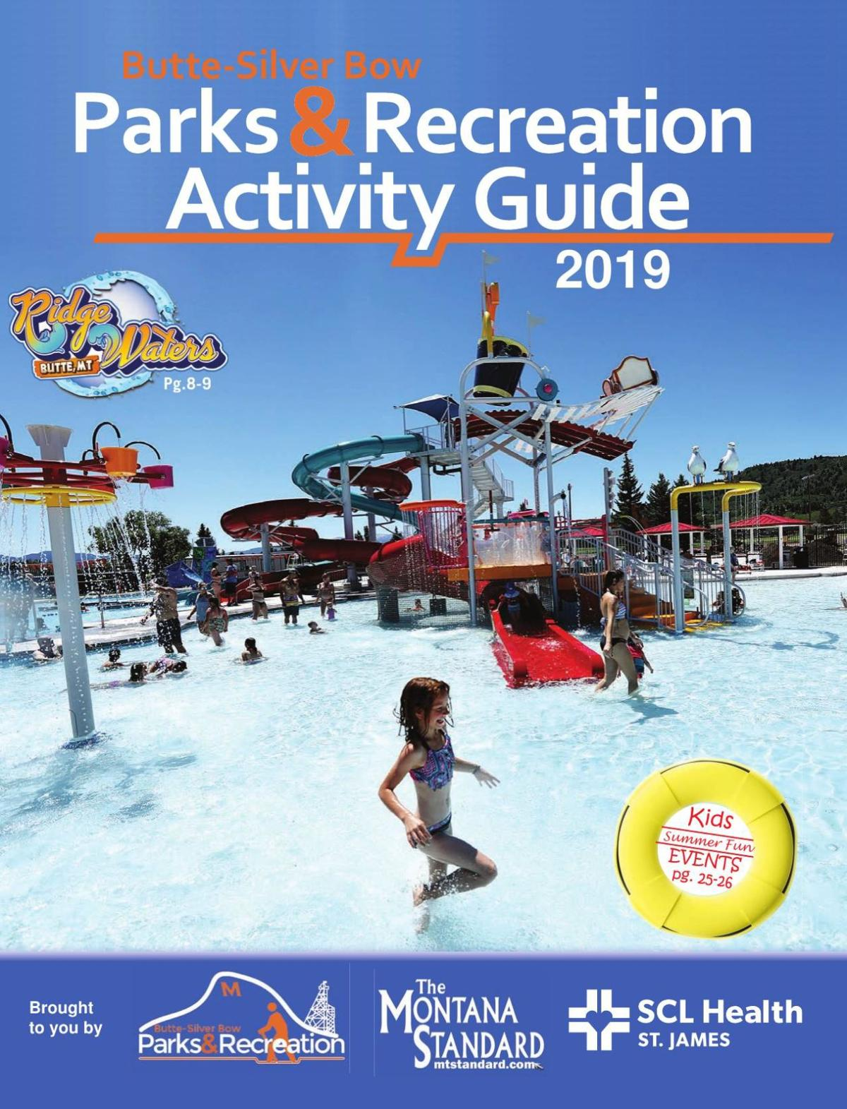 Parks & Recreation Activity Guide 2019