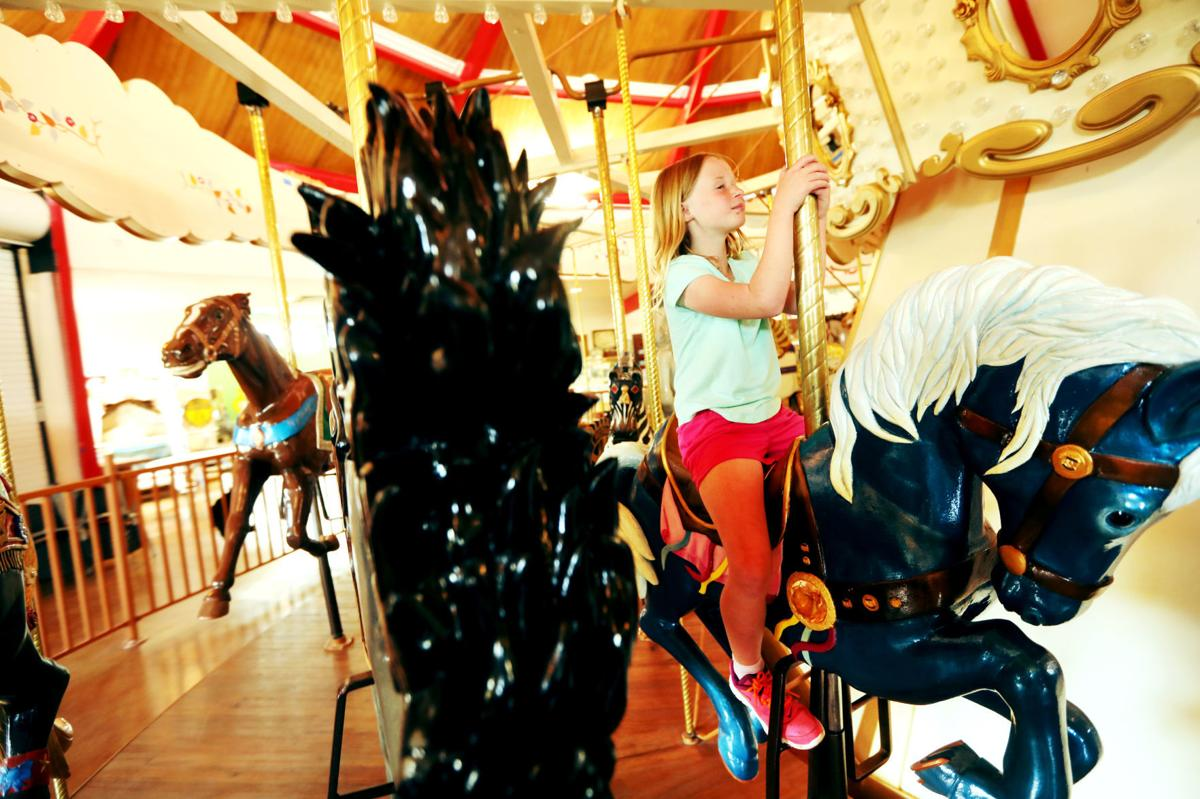 After decades of fundraising and volunteer work, the carousel is finally open