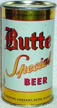 An old Butte Special beer can