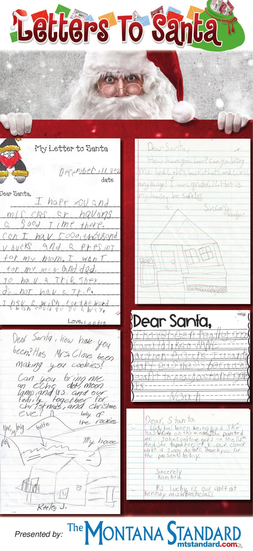 Letters to Santa 2020