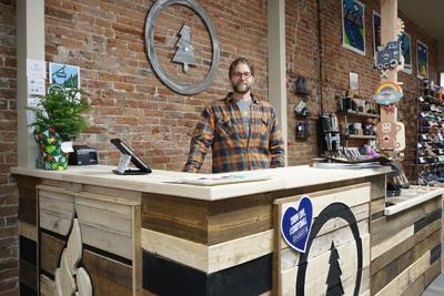 Jon Wick at 5518 kiosk