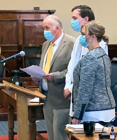 Travis Hunter in court