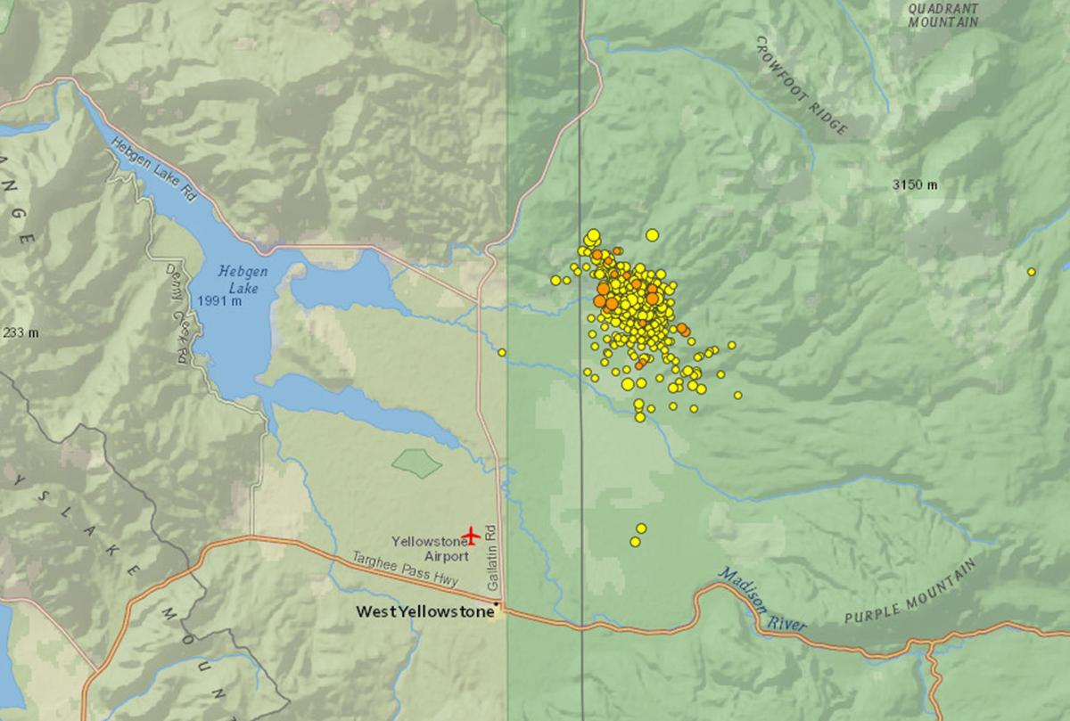 Did You Feel It Yellowstone Earthquake Swarm Not A Sign Of