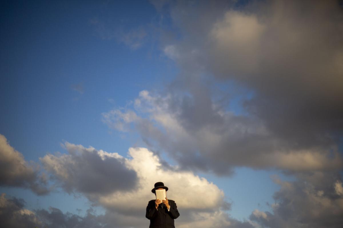 APTOPIX Israel Yom kippur