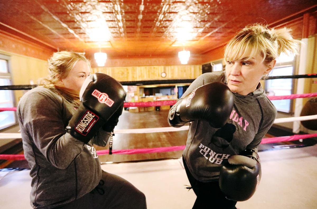 The women of Butte's boxing scene
