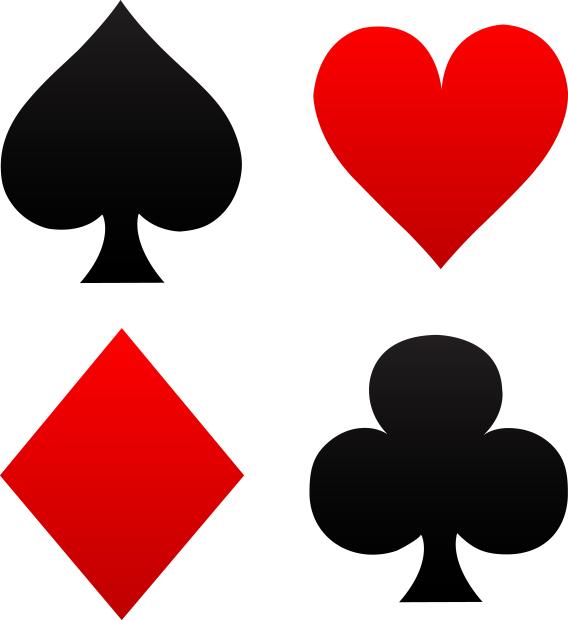 cards Bridge icon pinochle poke cribbage suits