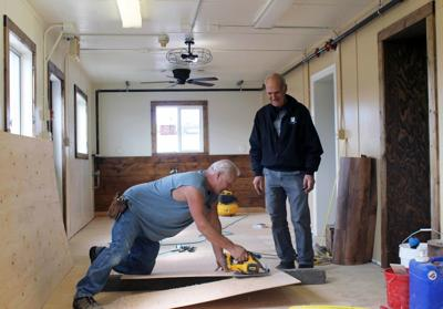 Work at Butte Rescue Mission homeless shelter