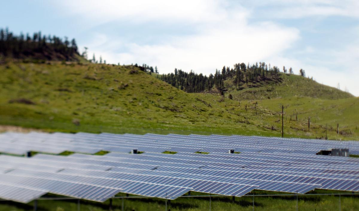River Bend Solar project near Reed Point