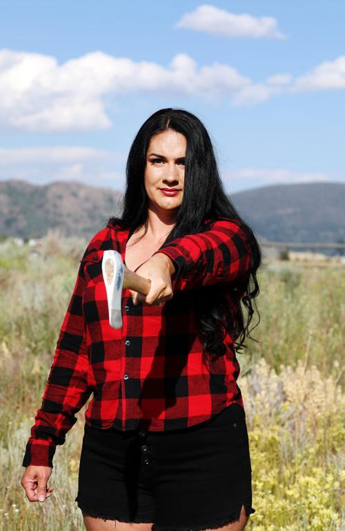 Butte woman opens axe throwing business