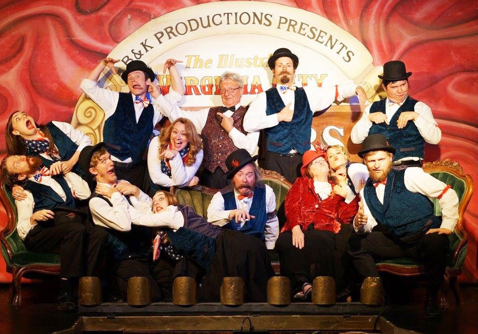 Virginia City Players present day