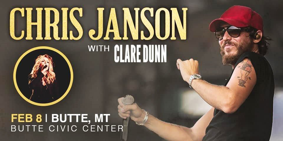 Chris Janson and Clare Dunn