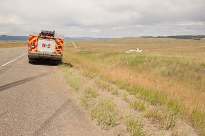 Man crashes vehicle near mile marker 112 on Interstate 15
