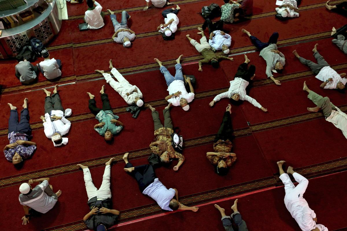 APTOPIX Indoensia Ramadan
