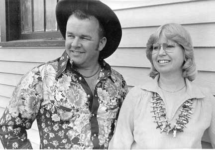 Bob and Becky Munden of Butte