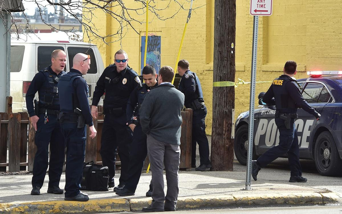 Police shooting investigation