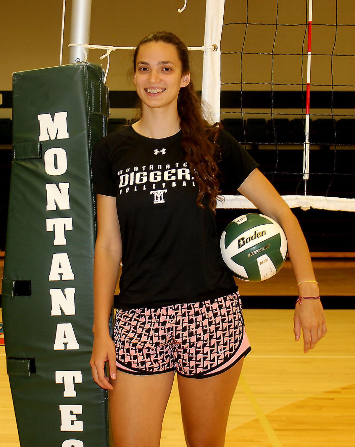 Tech volleyball player Masha Korol